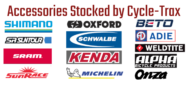 Cycle-Trax Brands Stocked