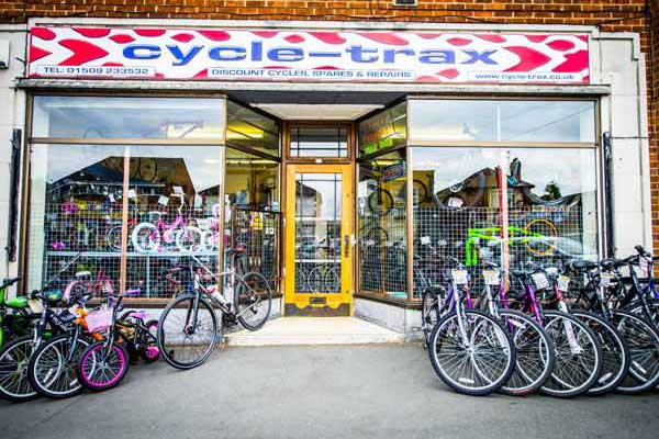 Cycle-Trax Loghborough Store Front